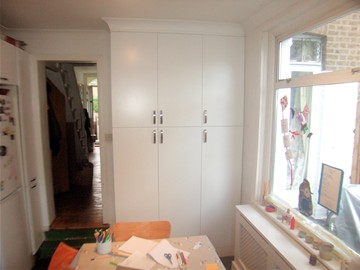 Kitchen Storage Flush Panels
